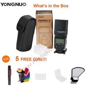 Image 2 - Yongnuo YN568EX III YN568 EX III Không Dây TTL HSS Đèn Flash Cho Canon EOS 1100D 650D 600D 700D Cho Nikon D800 d750 D7100