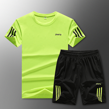Loose Men's Sport Suits Quick Dry Running sets Clothes New Sports Joggers Training Gym Fitness Jogging Tracksuits large size 5