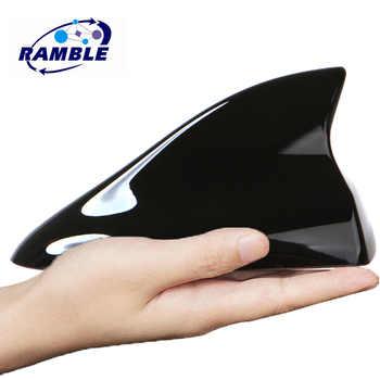 Alerón con forma de aleta de tiburón para Renault Koleos Zoe Clio 4 3 2 1 RS MEGANE KZ-E techo cubierta para Antena señal tiburón Antena de coche de estilo IV