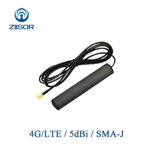 Image 1 - 4G LTE Universal Car Vehicle Auto Patch Antenna 5dBi SMA Male Car Radio Navigation Aerial Z121 B4GSJ