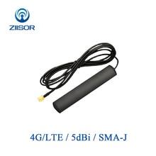 4G LTE Universele Auto Voertuig Auto Patch Antenne 5dBi SMA Mannelijke Auto Radio Navigatie Antenne Z121 B4GSJ