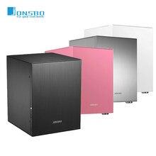 Jonsbo C2 – châssis en aluminium pour Mini ITX microATX, compatible carte mère 24.5x21.5CM/ATX power/80MM radiato