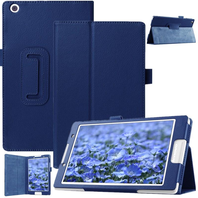 Litchi padrão para lenovo tab2 a8 suporte de couro do plutônio capa protetora para lenovo tab 2 A8-50 A8-50F A8-50LC 8 tablet tablet + filme