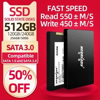 Heoriady Ssd 120Gb 128Gb 240Gb 256Gb 500Gb 512Gb 1Tb Harde Schijf Voor Laptop macbook Pc Computer Sata 3.0 Hdd