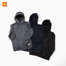 Xiaomi Mijia Youpin 90 Point UREVO Men Fleece Hooded Sweater Trendy Suede Soft and Comfortable