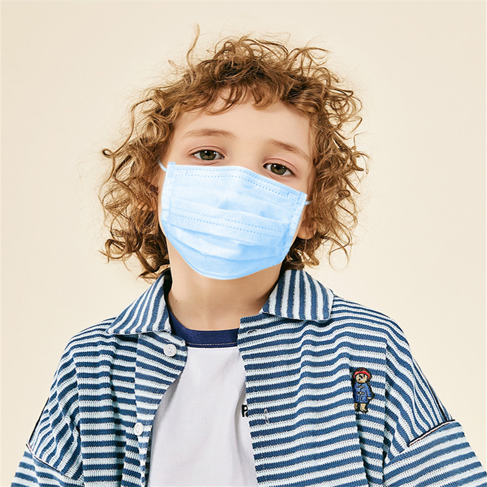 24h-Fast-Shipping-Disposable-Child-Mask-Child-Face-Mask-50pcs-100pcs-3-layer-Disposable-Non-woven (1)
