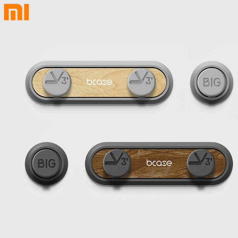 Original Xiaomi Mijia Bcase Magnetic Cable Desktop Organizer Management Holder Cable Cord Clips for Xiaomi Smart Home