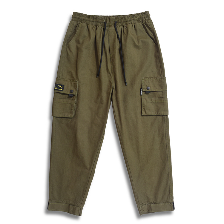 K70817 Double Layer Pencil Case Cargo Trousers