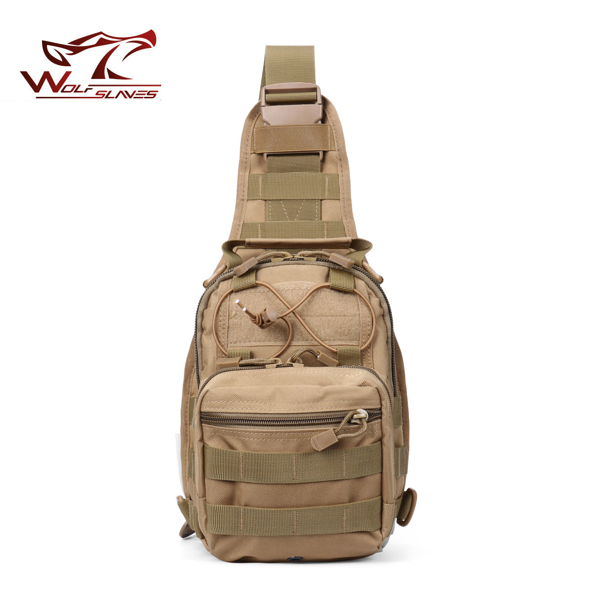 Outdoor Molle Camouflage Tactical Chest Bag Crossbody Bag Men And Women Army Fans Camouflage Outdoor Sports Hiking Bag