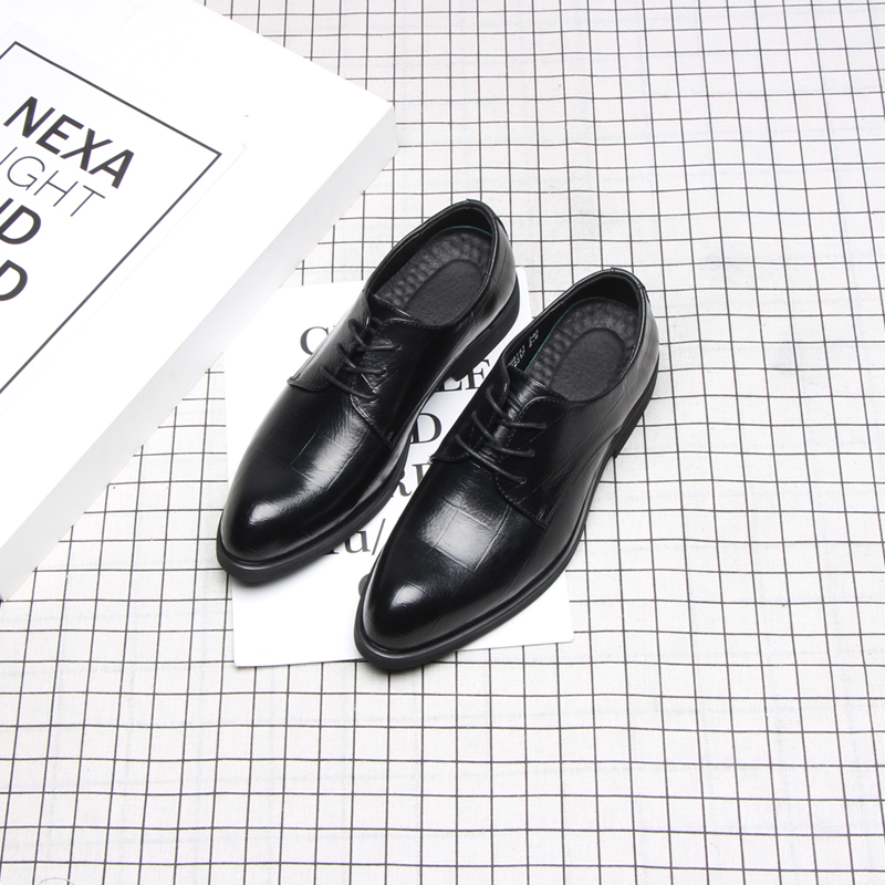Image 3 - 37 44 mens formal shoes business comfortable Stylish Gentleman's formal shoes men #2033-in Formal Shoes from Shoes