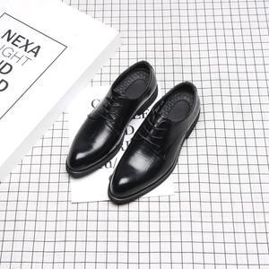 Image 3 - 37 44 mens formal shoes business comfortable Stylish Gentlemans formal shoes men #2033