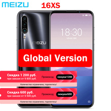 Глобальная прошивка Meizu 16XS, 6 ГБ ОЗУ, 16 XS, Смартфон Snapdragon 675, 6,2 дюймов, 48 МП, тройная камера AI, фронтальная 16 Мп, 4000 мАч