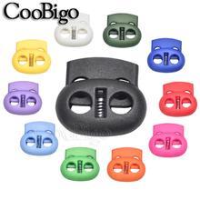 Пластиковый шнур с фиксатором, зажим-переключатель, шнурок для одежды, шнурок для спортивной одежды, аксессуары, разноцветное отверстие 5 мм...