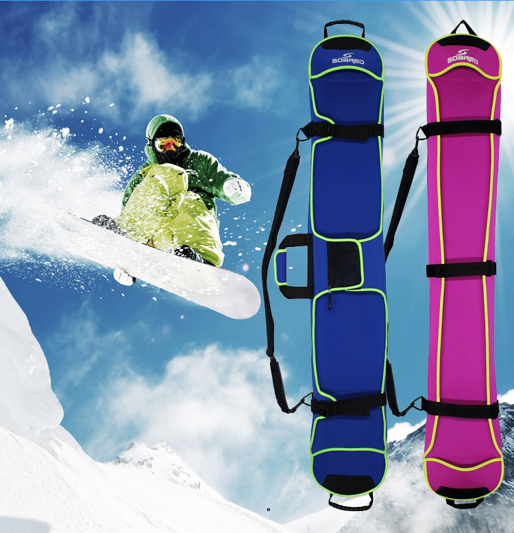 135-155CM Ski Bag Snowboard Bag Veneer Board Cover Snow Ski Bag Anti-Scratch Anti-rust Blade Protection Cover Diving Cloth