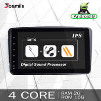 2 din Android 9 Car DVD multimedia Player GPS For Mercedes Benz CLK W209 W203 W463 W208 Radio Stereo audio Navigation Head Unit