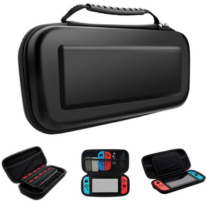 Image 4 - Portable EVA Storage Bag Cover Cases For Nintend Switch Case NS NX Console Protective Shell Accessories Controller Travel Bag