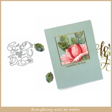 Mix Flower Leaves Branch Metal Cutting Dies DIY Make Cards Embossing Paper Scrapbook Stencils Cut Die Craft 2020 New Look Hot cute baby clothes bow lace leather belt button metal cutting dies diy scrapbook craft new stencils make cards embossing paper