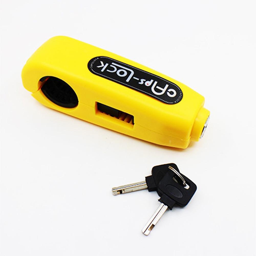 Motorcycle Lock Handlebar Safety Lock Brake Anti Theft For HONDA Xr 250 Cb 400 400f 500f Cbf 1000 For SUZUKI Gsr 250f Gsx-r1000