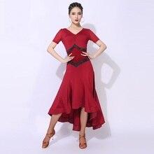 Ballroom-Dress Dance-Costumes Waltz Dancing Tango Standard Women
