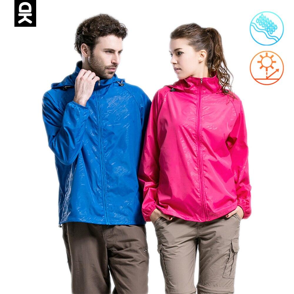 ليتل دونكي اندي معطف للأماكن الخارجية النساء الرجال سترة واقية معطف للرياضة مقاوم للماء واقية من الشمس سريعة الجافة خفيفة الوزن معطف رياضي
