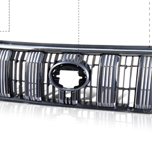 EOsuns Решетка переднего бампера для Toyota land cruiser prado