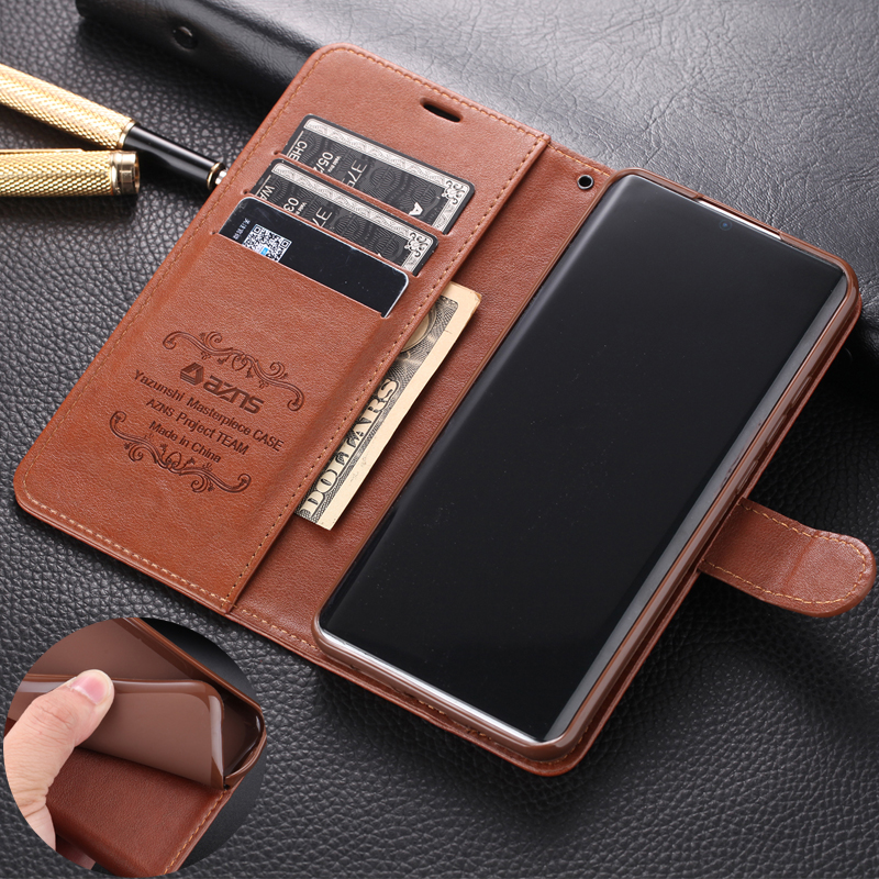 Luxury Leather Case For XIAOMI MI Note 10 Cover Silicon phone Case For XIAOMI MI Note 10 Pro Flip Wallet cover phone bag