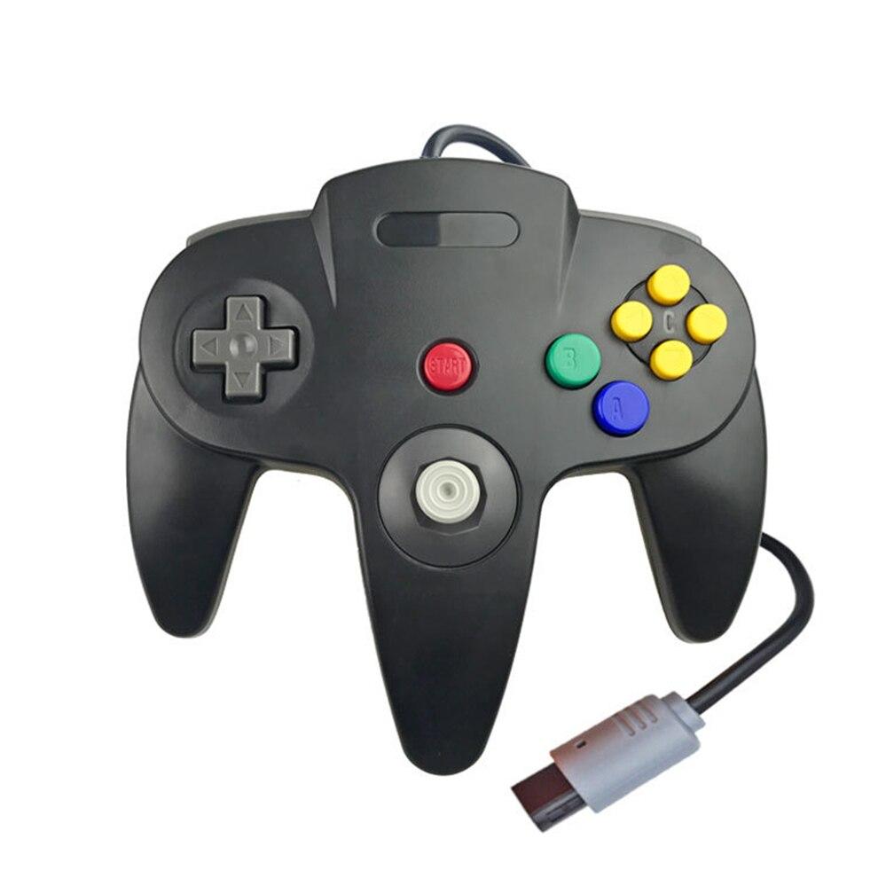 Com fio gamepad joypad para n64 jogo joystick para nintendo gamecube com fio controlador gamepad clássico controlador de jogo