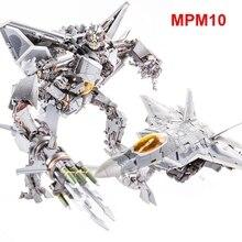 Преобразования фильм MPM10 MPM-10 ко Старскрим красный человек-паук Самолет Модель фигурку робот игрушка Коллекция Подарки для детей