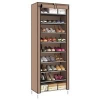 Dustproof 10 Layer 27 Pair Shoes Cabinet Storage Organizer Shoe Rack Stand