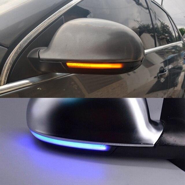 2x dinâmico led turn signal light side espelho indicador blinker para vw passat b6 golf 5 jetta mk5 passat b5.5 gti v sharan excelente
