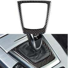 Car accessories Carbon fiber Gear Shift Panel Cover Gearshift Shifter Trim Sticker car styling For BMW Z4 E89 (2009-2015) Series