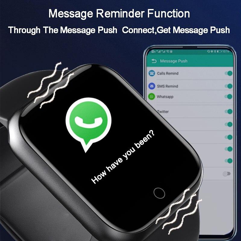Smart watches 2020 Android smart watch men women kids smartwatch Bluetooth Heart Rate Monitor fitness watch smart connect 3