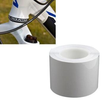 1M folia ochronna rower ochrona ramy rowerowe naklejki nosić rama przezroczysta taśma rowerowa przezroczysta taśma rowerowa Prote D4H9 tanie i dobre opinie sticker 15*100cm bicycle sticker