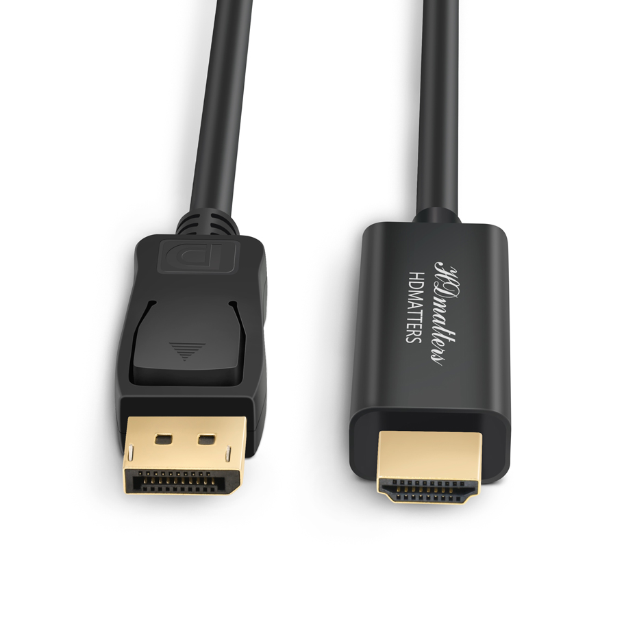 10ft DisplayPort DP 1.2 Male to Display Port DP 1.2 Male M//M PC Monitor Cable