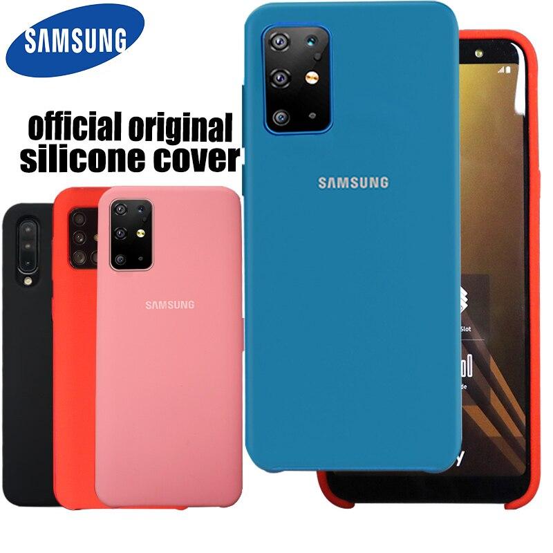 A51 Original Back Case Liquid Silicone Case Silky For Galaxy A71 A51 Protective Case For Galaxy A51 Phone Case
