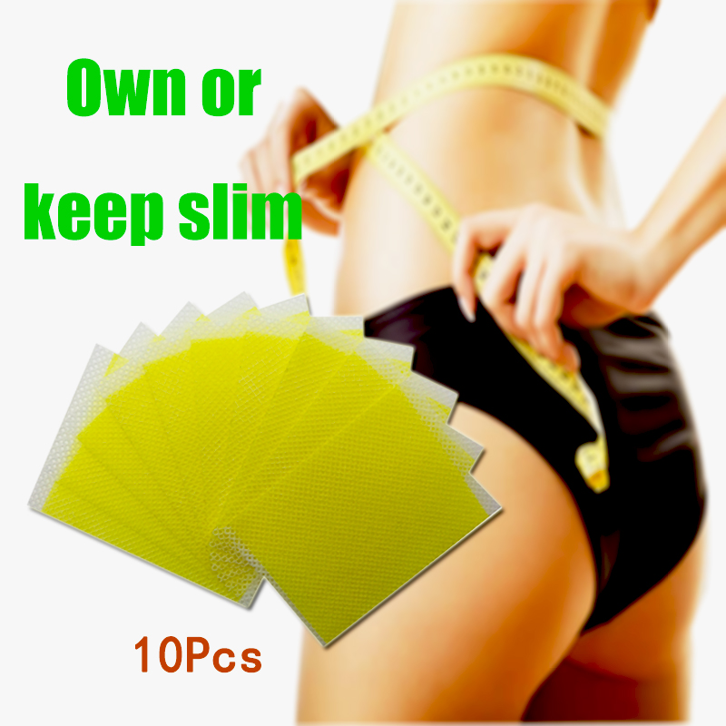 60pcs/6bags Slimming Patch Slim Navel Stick Diet Products Weight Loss Burning Fat Cream Body Leg Slimming Patches A203
