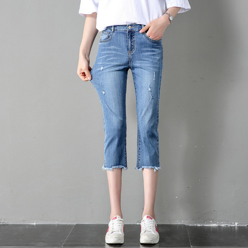 2020  Summer Fashion New Style  Women's Jeans 903