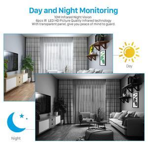 Image 5 - BESDER 1080P אבטחת בית IP המצלמה שתי דרך אודיו אלחוטי מיני מצלמה ראיית לילה Cctv WIFI מצלמה ענן אחסון תינוק צג