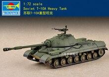 Trompetista 07153 1:72 escala soviética T-10A tanque pesado modelo kit