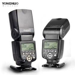 Yongnuo YN560 III IV YN560III YN560IV 2,4G Беспроводная вспышка Master & Group Speedlite для камеры Nikon Canon Pentax Olympus sony