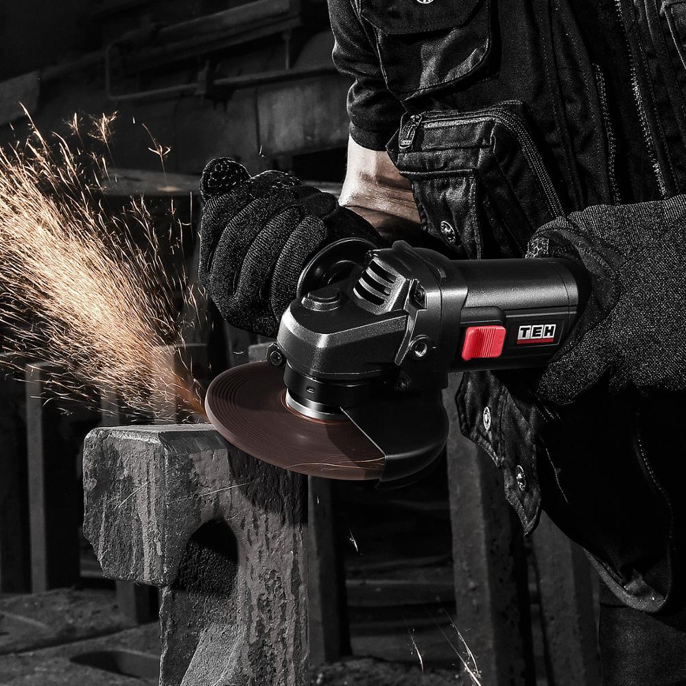 2020 NEW TEH 125 мм Угловая шлифовальная машина электрический угловой Электроинструмент шлифовальный режущий диск для дома DIY ремонтная команда 220 В