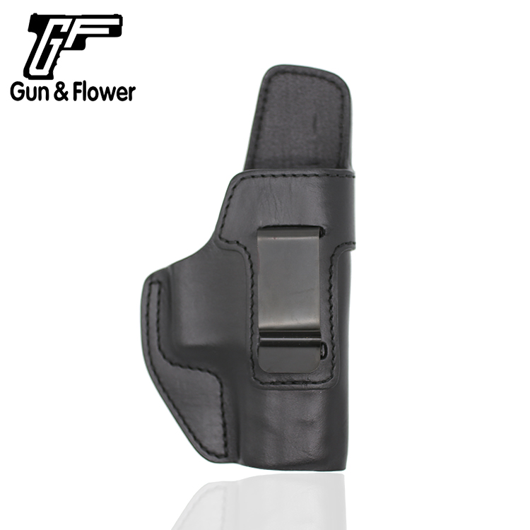 Gun&Flower Beretta APX Pistol Leather Pouch Case Inside the Waistband Gun Holster for 1.5'' Belt|Holsters| |  - title=