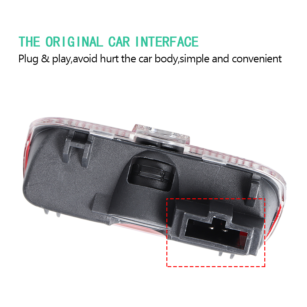 Image 5 - 2pcs Car Door Welcome LED Projector Laser Logo Light For Porsche Cayenne Boxster Cayman Macan 911 S3 S4 Carrera4 Accessories-in Car Stickers from Automobiles & Motorcycles