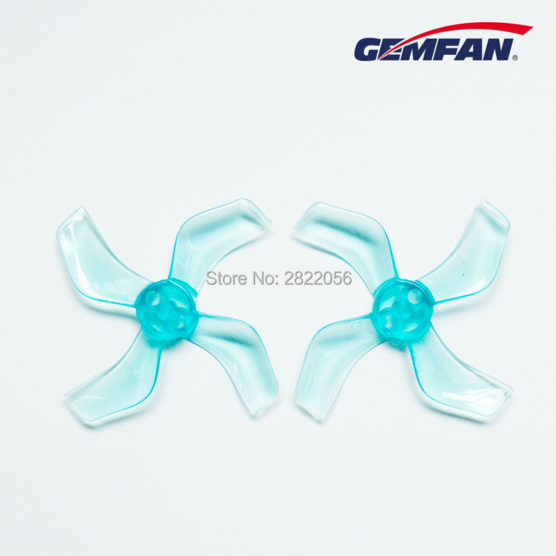 4Pairs 8pcs  Shaft 1mm 4-Blade Gemfan 1636 1.6x3.6x4 40mm CCW/CW Propeller Hollow Cup Brushless Motor RC Drone Airplane Parts