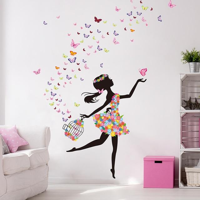 Fairy Girl 130*120cm Wall Size 2