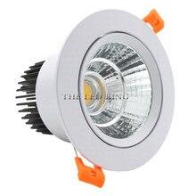 特別なホワイト led スポットライトミニ 3 ワット 5 ワット 7 ワット cob led 調光可能な凹型ランプのために天井は内務省ホテルの 110 v 220 v