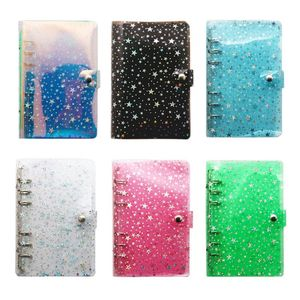 A5 A6 Star Loose Leaf Binder Notebook Inner Core Cover Journal Planner Office Stationery Supplies