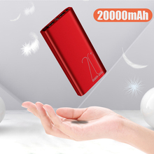 Charger Power bank Charging Bank 20000mAh Portable PowerBank for Smart Mobile Phone xiaomi Iphone