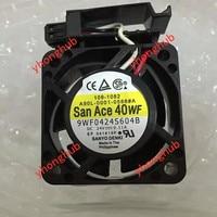 Sanyo 9WF0424S604B DC 24V 0.11A 3 Wire 40x40x20mm Server Cooler Fan