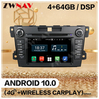 2Din For Mazda CX 7 2007 2008 2009 2010 2016 Android 10 car Multimedia Player Screen Audio Radio Stereo GPS Navigation Head Unit